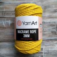 MACRAME ROPE 3mm YARNART (МАКРАМЕ РОУП 3 мм ЯРНАРТ)